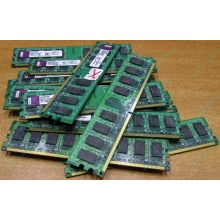 ГЛЮЧНАЯ/НЕРАБОЧАЯ память 2Gb DDR2 Kingston KVR800D2N6/2G pc2-6400 1.8V  (Бердск)