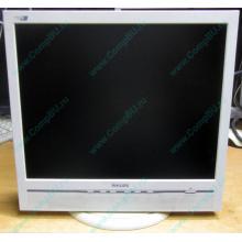 """Б/У монитор 17"""" Philips 170B с колонками и USB-хабом в Бердске, белый (Бердск)"""