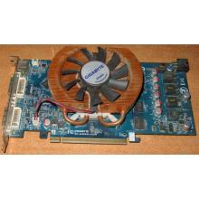 Глючная видеокарта 512Mb DDR3 nVidia GeForce 9800GT Gigabyte GV-N98TZL-512H PCI-E (Бердск)