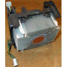 Кулер для процессоров socket 478 с медным сердечником внутри алюминиевого радиатора Б/У (Бердск)