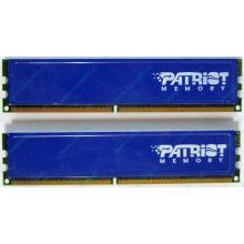 Память 1Gb (2x512Mb) DDR2 Patriot PSD251253381H pc4200 533MHz (Бердск)