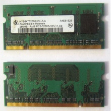 Модуль памяти для ноутбуков 256MB DDR2 SODIMM PC3200 (Бердск)