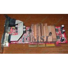 Видеокарта 128Mb nVidia GeForce FX5500 AGP (MSI TD128LF 8998) - Бердск